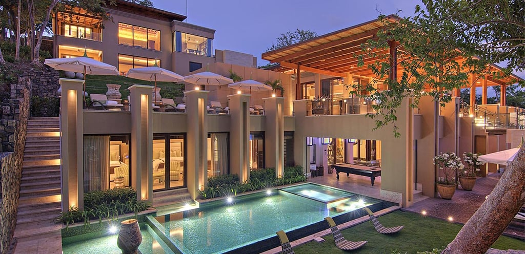 Escape Your Winter Blues With Photos of the Kardashians' Extravagant Costa Rica Estate