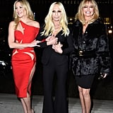 There Was That Time Donatella Versace Brought Kate and Goldie as Her Dates