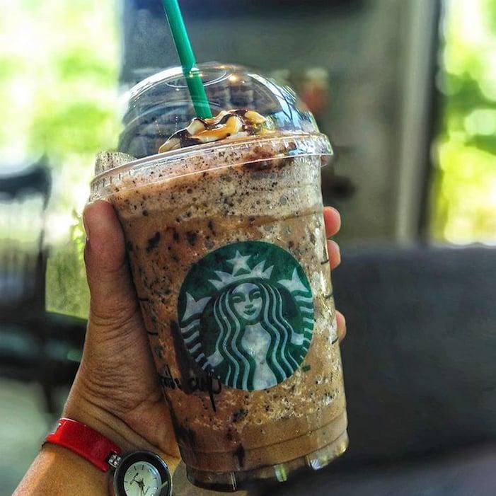 Starbucks Secret Twix Frappuccino Tastes Just Like The Bar Popsugar Food Uk