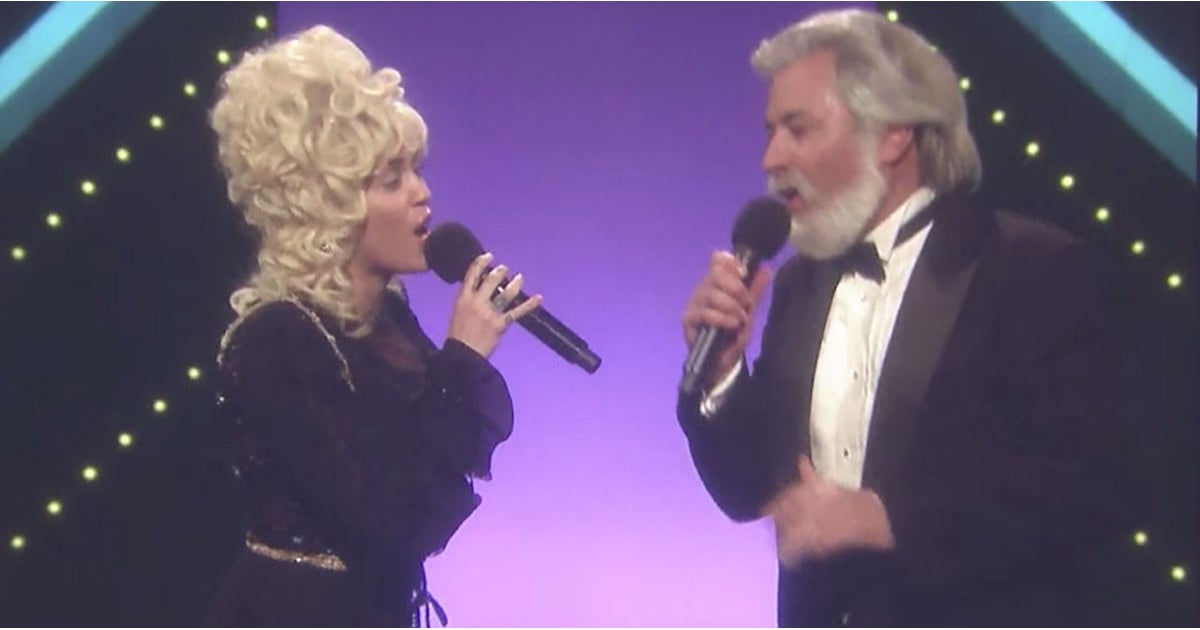 Miley Cyrus Performing Dolly Parton Song With Jimmy Fallon