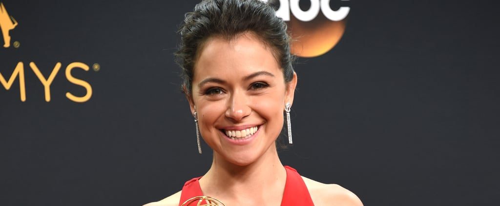 Tatiana Maslany at the Emmy Awards 2016