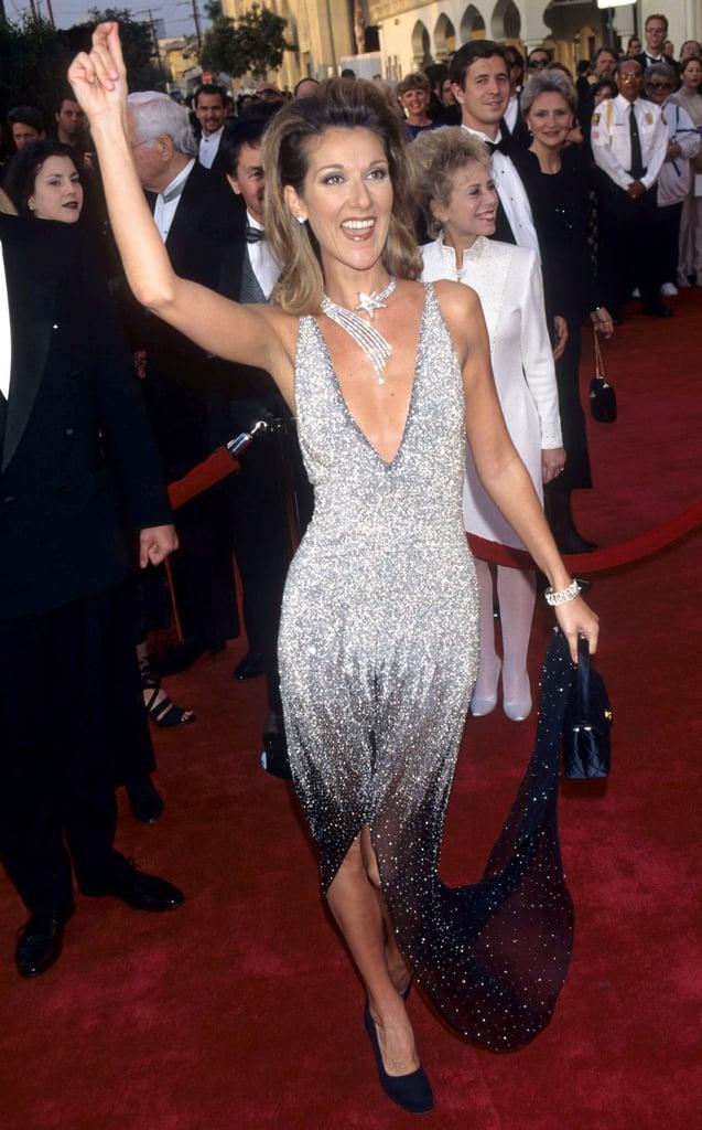 Celine Dion Danced on the Red Carpet