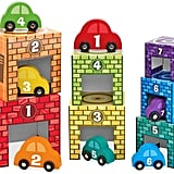 For 2-Year-Olds: Melissa & Doug Nesting and Sorting Garages and Cars