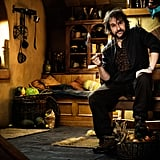 Peter Jackson behind the scenes of The Hobbit: An Unexpected Journey.