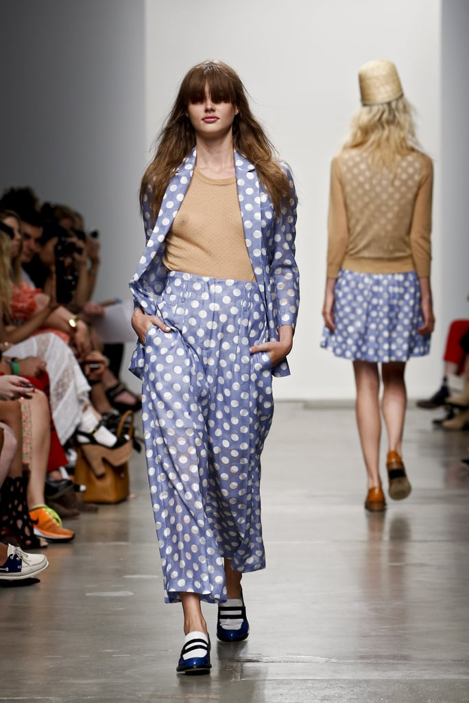 2013 Spring New York Fashion Week: Karen Walker