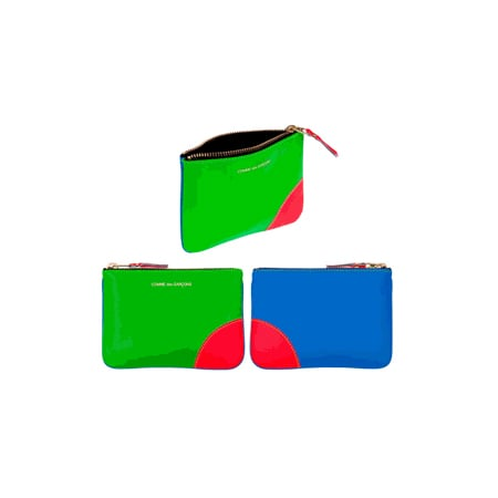 Comme des Garcons Super Fluoro Clutch Small, $125 each