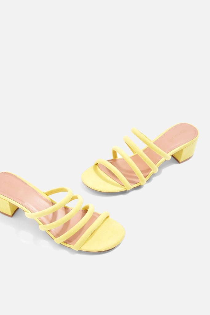 Topshop Diana Strappy Mules