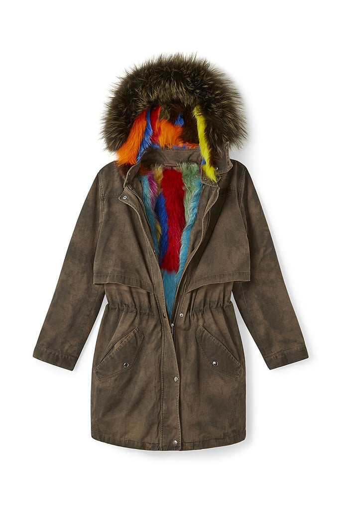 Theo Coat With Fur ($1,498)