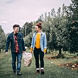 Apple picking with your significant other.