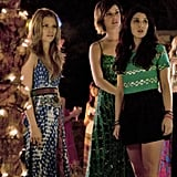 AnnaLynne McCord as Naomi, Jessica Stroup as Silver, and Shenae Grimes as Annie on 90210.  Photo courtesy of The CW