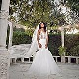 Eniko's Vera Wang Wedding Gown