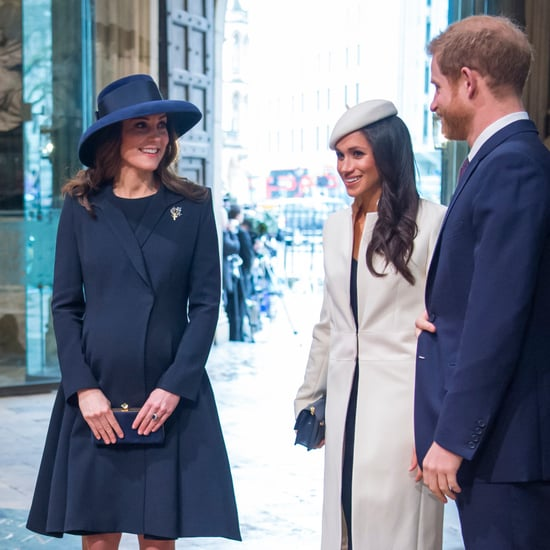 Meghan Markle and Kate Middleton Wearing Blue Heels