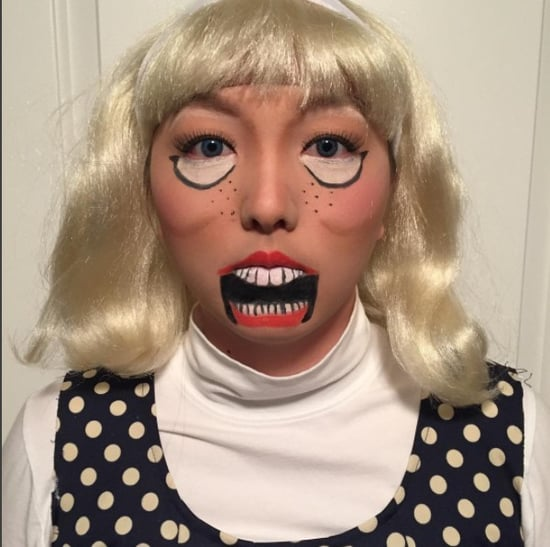 Ventriloquist Halloween Makeup Instagram Trend