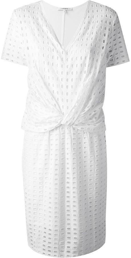 Carven Knot Front Dress