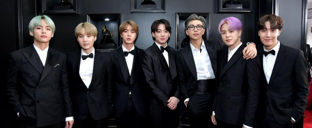 BTS Grammys Red Carpet 2019
