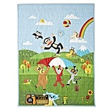 Paul Frank Friends by Land Twin Quilt ($189)