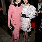 Francesca Reale and Natalia Dyer at EW's 2020 SAG Awards Preparty