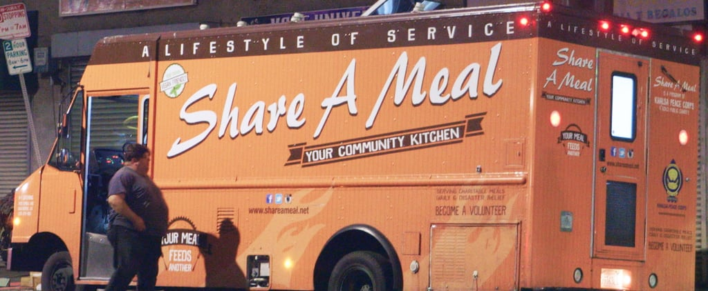 Food Truck Gives Burritos to the Homeless (Video)