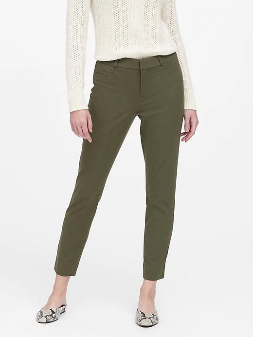 Modern Sloan Skinny-Fit Brushed Washable Pant