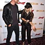 Fergie and Josh Duhamel at Spaceman Premiere August 2016
