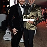 Tom Hiddleston and Jeff Goldblum
