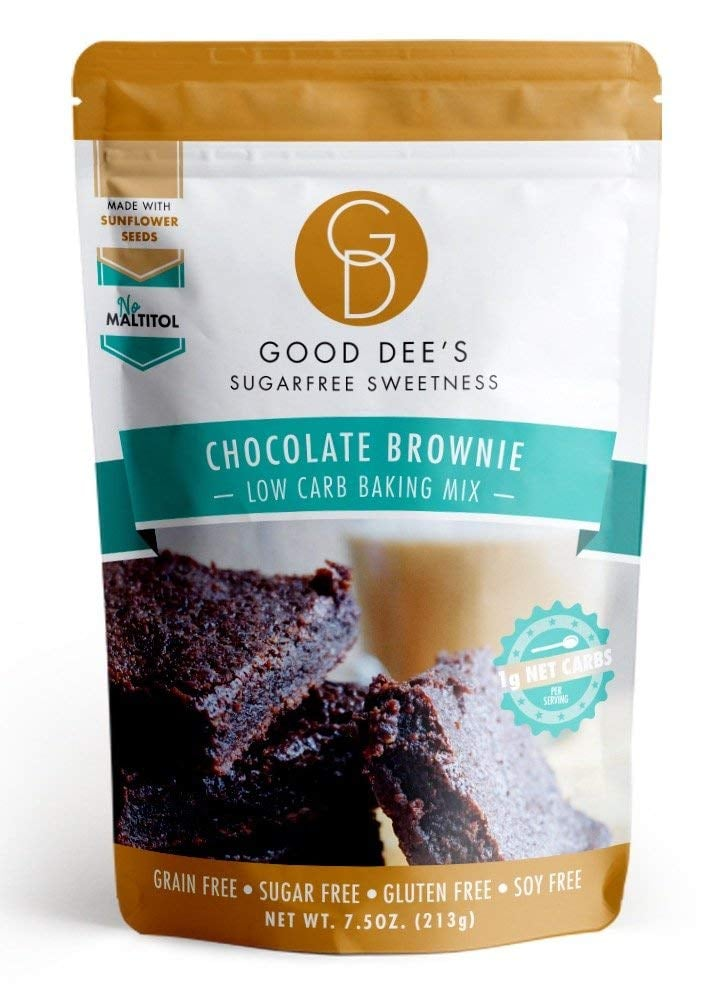 Good Dee's Low-Carb, Sugar-Free, Gluten-Free Brownie Mix