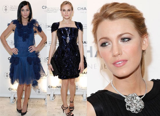 Gallery of Photos From Chanel Benefit in NYC with Blake Lively, Leigh Lezark & Diane Kruger. Blake Lively Interview Marie Claire