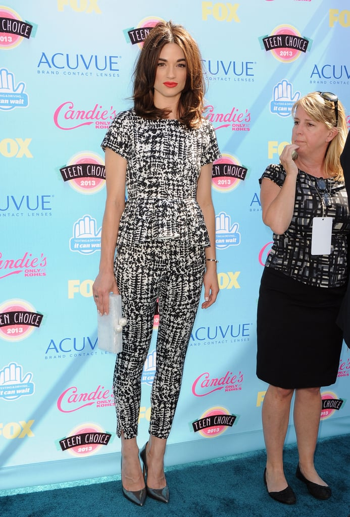 Crystal Reed attended the 2013 Teen Choice Awards.