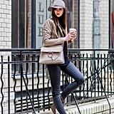 Match a Pair of Beige Boots With Your Handbag