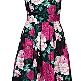 Jolie Moi floral printed '50s prom dress (£53)