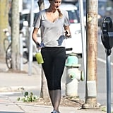 Gisele Heads to the Gym as Her Supermodel Salary Skyrockets