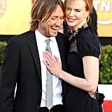 Nicole had Keith for support at the 2011 SAG Awards.
