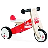 Janod Red & White Little Bikloon Ride On