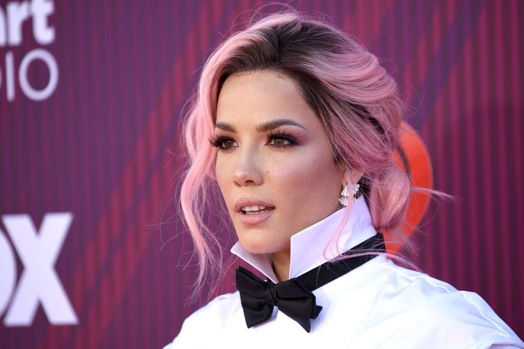 Halsey Pink Hair iHeartMusic Awards 2019