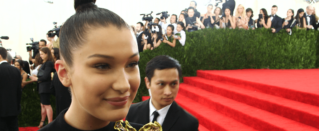 "Bella Hadid ""Would Probably Cry"" Talking to Anna Wintour at the Met Gala"
