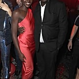 Lupita Nyong'o and Edward Enninful