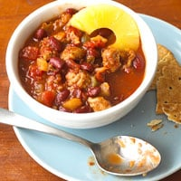 Fast & Easy Dinner: Pineapple Pork Chili