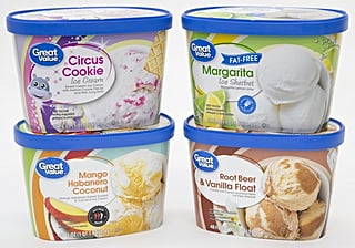 Walmart's New Ice Cream Flavors Include Margarita, Root Beer Float, Circus Cookie, and More