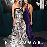 Sydney Sweeney and Vanessa Hudgens at the Vanity Fair Oscars Party