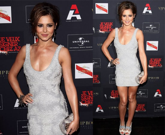 Pictures of Cheryl Cole at AZ Party in France