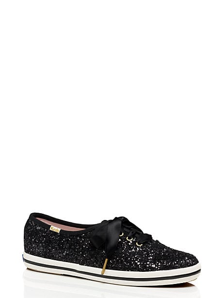 These Kate Spade For Keds Glitter Sneakers ($80) are black-tie appropriate.