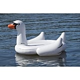 Giant Inflatable Swan Shaped 4-Person Raft