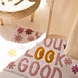 Urban Outfitters You Look Good Bath Mat