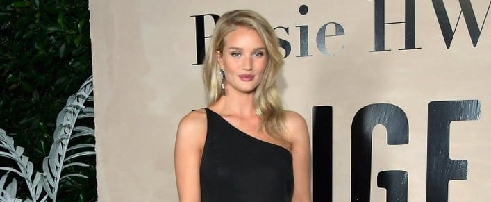 Rosie Huntington-Whiteley Has Already Mastered Maternity-Dress Shopping