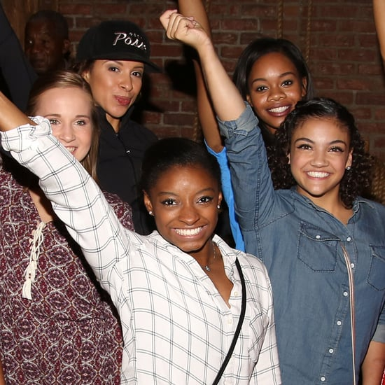 Simone Biles and Final Five at Hamilton Play in NYC 2016