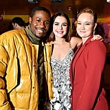Shameik Moore, Kiernan Shipka, and Liv Hewson at the Let It Snow Premiere