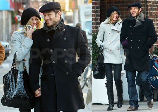 Photos of Cameron Diaz and Boyfriend Paul Sculfor Walking in NYC