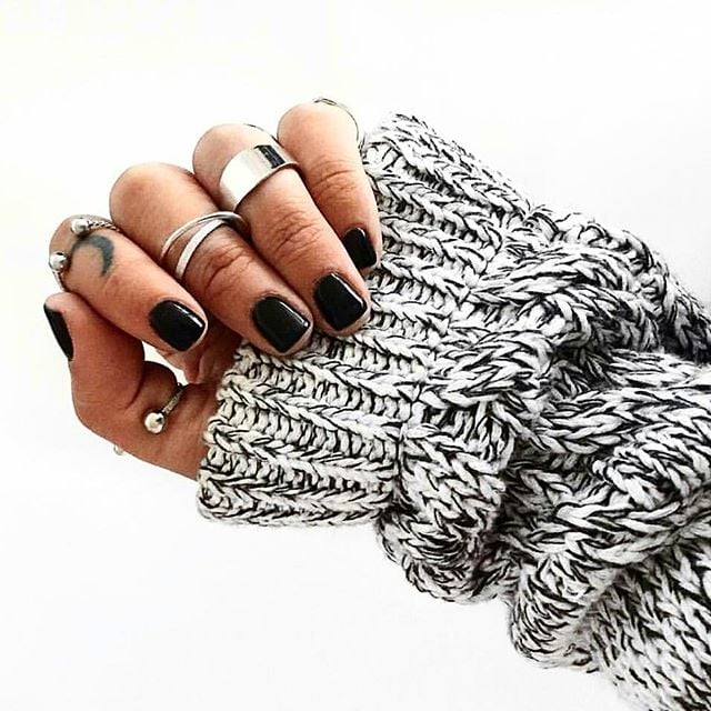 Why Black Is the Only Color of Nail Polish You Need