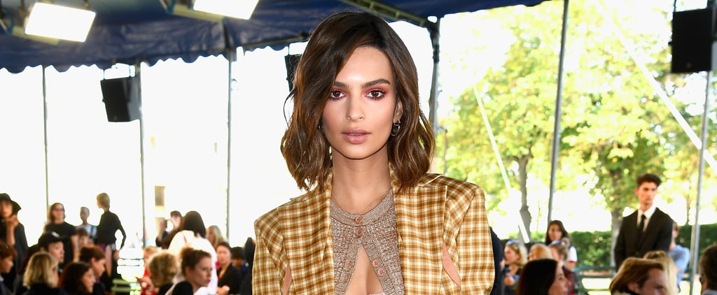 You'll Be Talking About Emily Ratajkowski Sexy, Sheer Top For Days