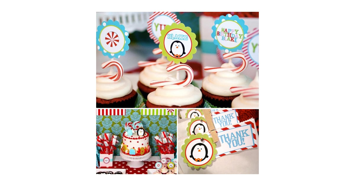A Winter Candy Land First Birthday Creative First